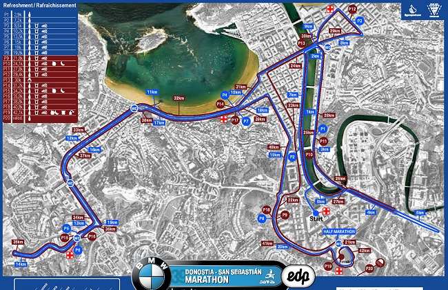 San-Sebastian-Marathon-Course-Map1
